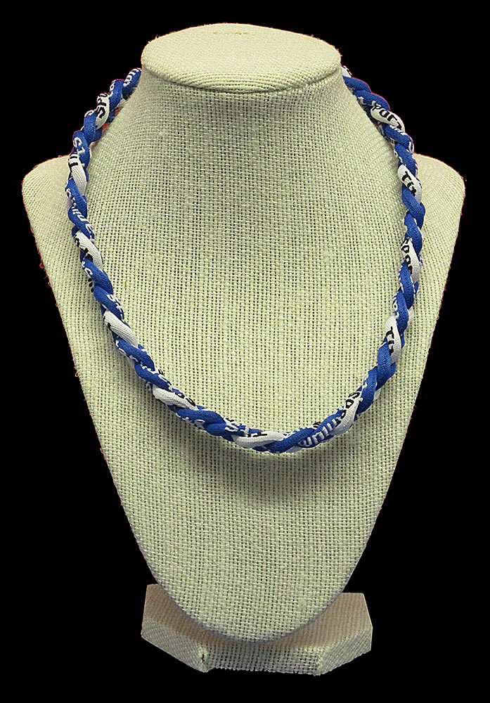 Rope Necklace - Royal White Royal