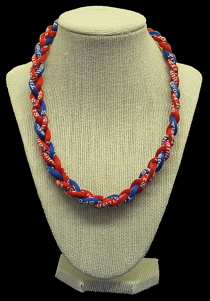Rope Necklace - Red Royal Red