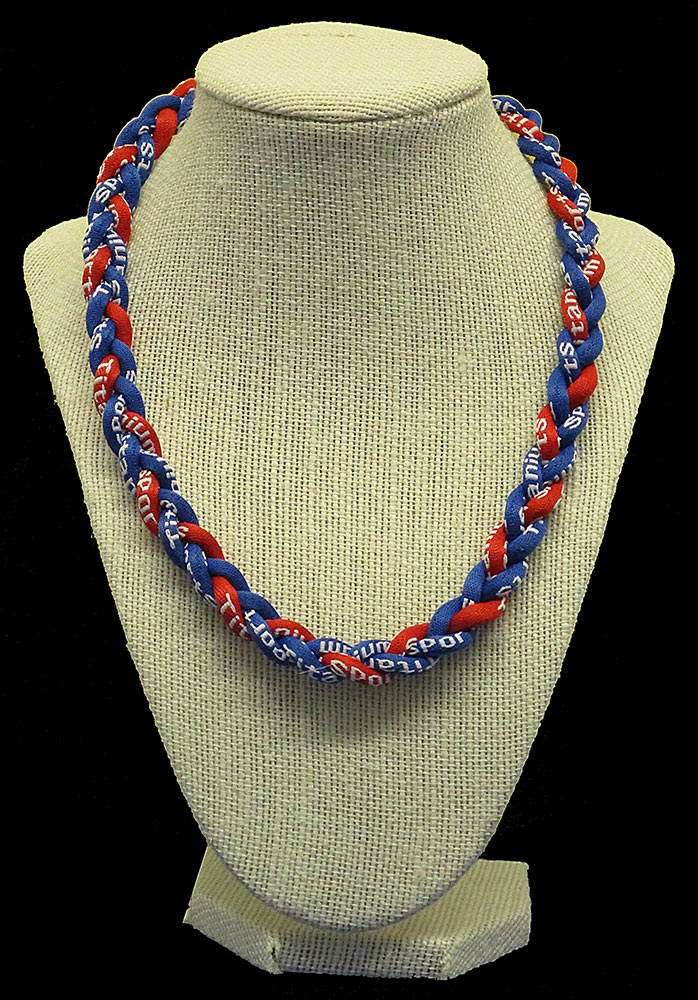 Rope Necklace - Royal Red Royal